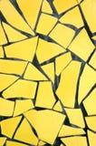 Piqué jaune Assiette Backgrou Images libres de droits