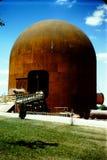 Piqua-第1个原子能厂的建筑 免版税库存图片