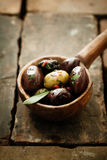 Piquant olives Stock Images