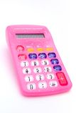 Pique a calculadora Fotos de Stock