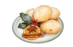 Pique las empanadas con la decoración Fotografía de archivo libre de regalías