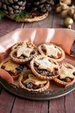 Pique las empanadas para la Navidad Fotografía de archivo