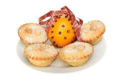 Pique las empanadas y el pomo Foto de archivo libre de regalías