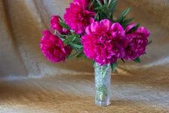 Pique las flores en un florero Fotografía de archivo libre de regalías