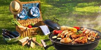 Pique-nique de barbecue photo libre de droits