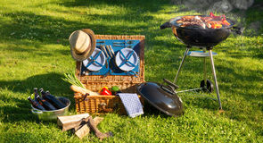 Pique-nique de barbecue photos libres de droits