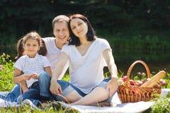 Pique-nique de famille Photographie stock