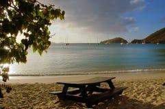Pique-nique de plage Image stock