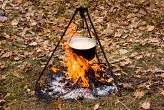 Pique-nique (repas de touristes) image stock