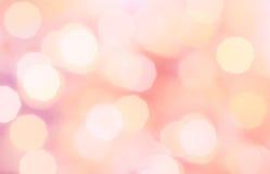 Pique o fundo colorido do feriado do sumário da luz do bokeh do Natal fotografia de stock