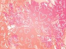 Pique o fundo dos Valentim Foto de Stock