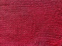 Pique a textura feita malha de lãs pode usar-se como o fundo Imagens de Stock Royalty Free