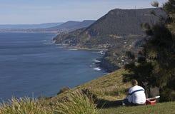 Piquenique com uma vista Foto de Stock Royalty Free