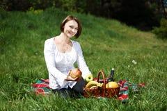 Piquenique do verão Fotografia de Stock Royalty Free