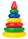 Pirámide coloreada Imagen de archivo libre de regalías