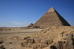 Pirámide de Cheops Fotografía de archivo