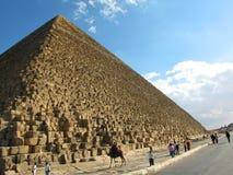 Pirámide de Cheops, Egipto Foto de archivo libre de regalías