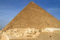 Pirámide de Cheops en Giza Fotografía de archivo libre de regalías