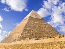 Pirámide de Chephren imágenes de archivo libres de regalías