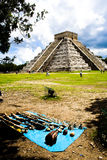 Pirámide de Chichen Itza, México Fotografía de archivo