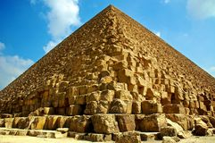 Pirámide de Giza Imagenes de archivo