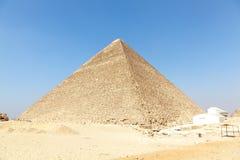 Pirámide de Giza, Egipto Fotografía de archivo libre de regalías