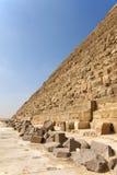 Pirámide de Khafre foto de archivo libre de regalías