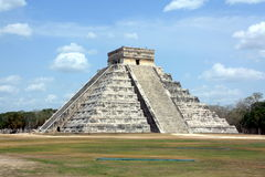 Pirámide de Kukulcan Imagenes de archivo