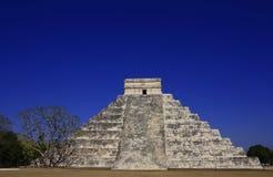 Pirámide de Kukulkan Imagenes de archivo