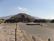 Pirámide de la luna Teotihuacan Fotos de archivo libres de regalías