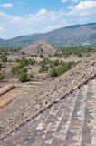 Pirámide de la luna, Teotihuacan (México) Fotos de archivo