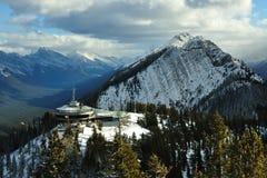 Pirámide de la nieve Imagenes de archivo