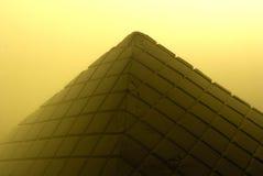 Pirámide de la tabla Imagen de archivo