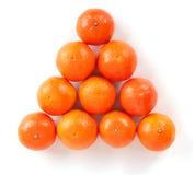 Pirámide de los mandarines Imagenes de archivo