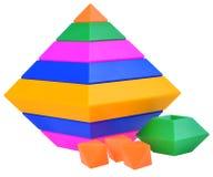 Pirámide de los niños Imagen de archivo libre de regalías