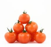 Pirámide de los tomates Imagen de archivo libre de regalías