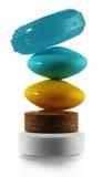 Pirámide de píldoras Fotografía de archivo libre de regalías