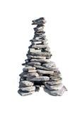 Pirámide de piedra Foto de archivo libre de regalías