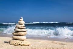 Pirámide de piedras Fotografía de archivo libre de regalías