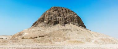 Pirámide de Senusret II imagenes de archivo