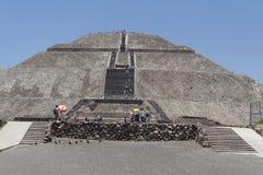 Pirámide de The Sun Fotografía de archivo