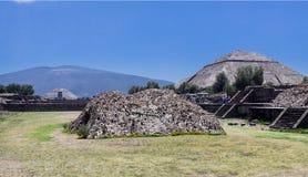 Pirámide de The Sun Teotihuacan Foto de archivo libre de regalías