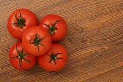 Pirámide de tomates imágenes de archivo libres de regalías