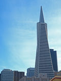 Pirámide de Transamerica Imagen de archivo libre de regalías
