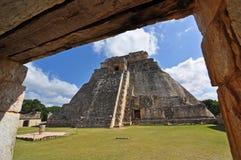 Pirámide de Uxmal Fotografía de archivo