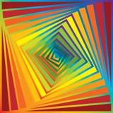 Pirámide del arco iris Fotos de archivo libres de regalías