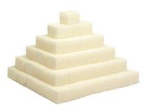 Pirámide del azúcar Foto de archivo libre de regalías