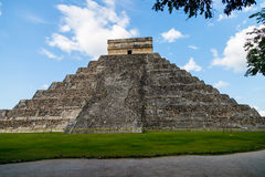 Pirámide del ¡de Chichén Itzà Imagen de archivo