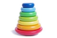 Pirámide del juguete Foto de archivo libre de regalías