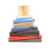Pirámide del libro Imagen de archivo libre de regalías